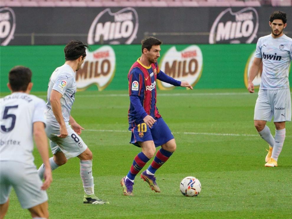Messi, que ha sido baja ante el Eibar, regresará a la competición en Huesca