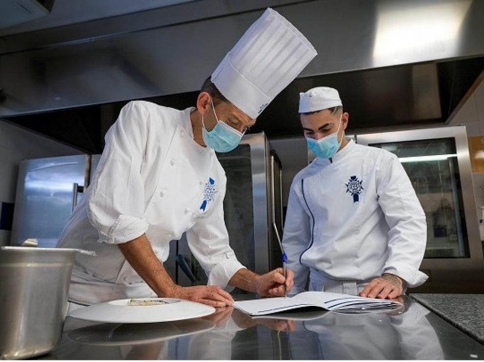 Dos oscenses, elegidos como posibles promesas de la alta cocina