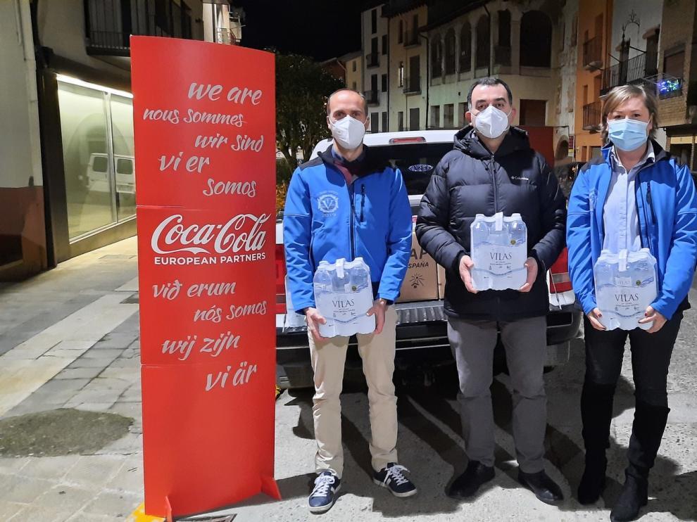 Graus dona casi 3.000 euros a tres entidades sociales locales