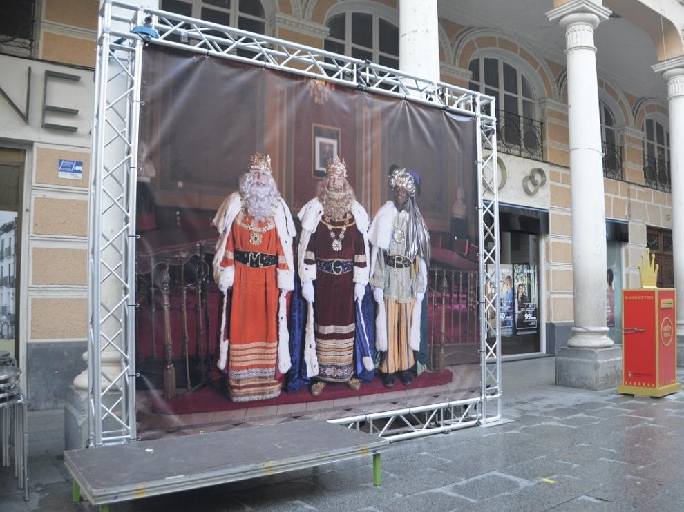 El Ayuntamiento de Barbastro prepara la llegada de los Reyes Magos