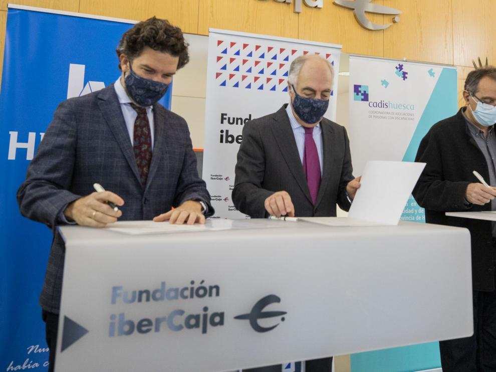 Henneo, Fundación Ibercaja y Cadis-Huesca colaboran para dar visibilidad a las personas con diversidad funcional o dependencia