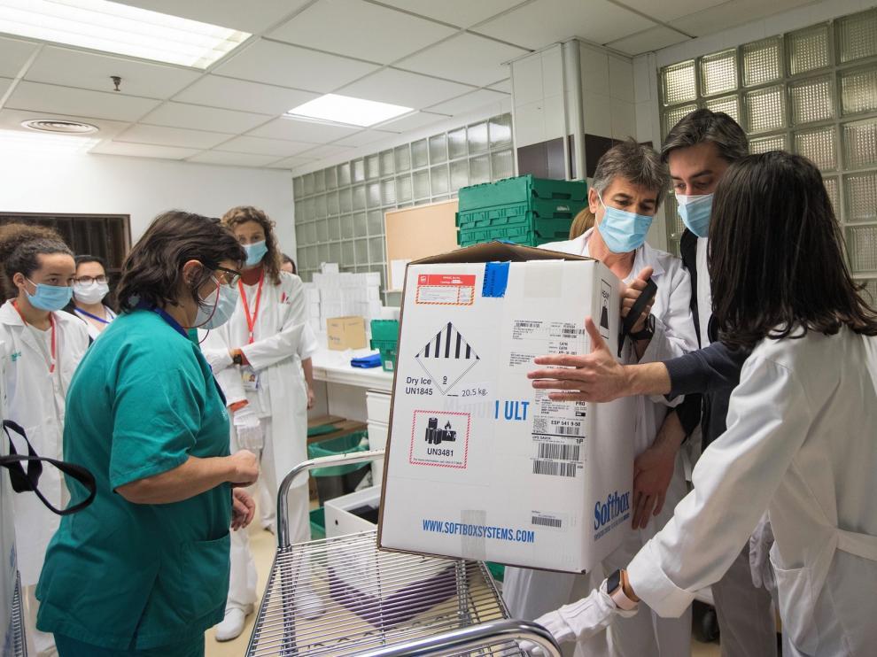 La DGA retoma este miércoles la campaña de vacunación en 35 residencias, nueve del Alto Aragón