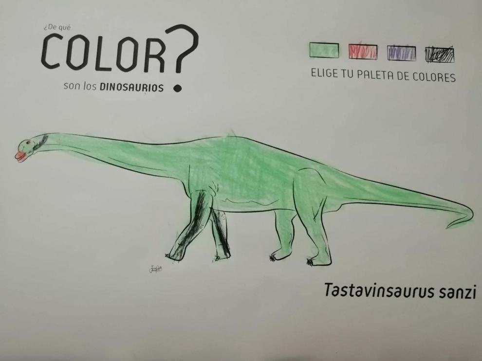El Museo Natural reta a descubrir el color de los dinosaurios