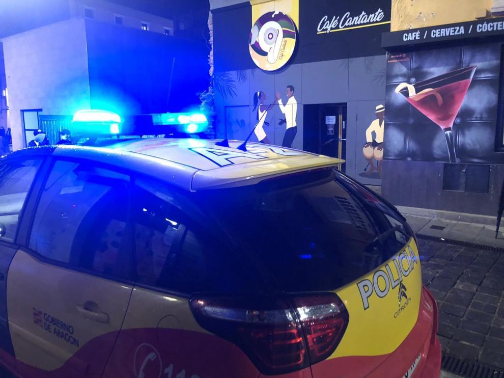 Desalojados dos bares de Huesca a escasas horas de la llegada del nuevo año