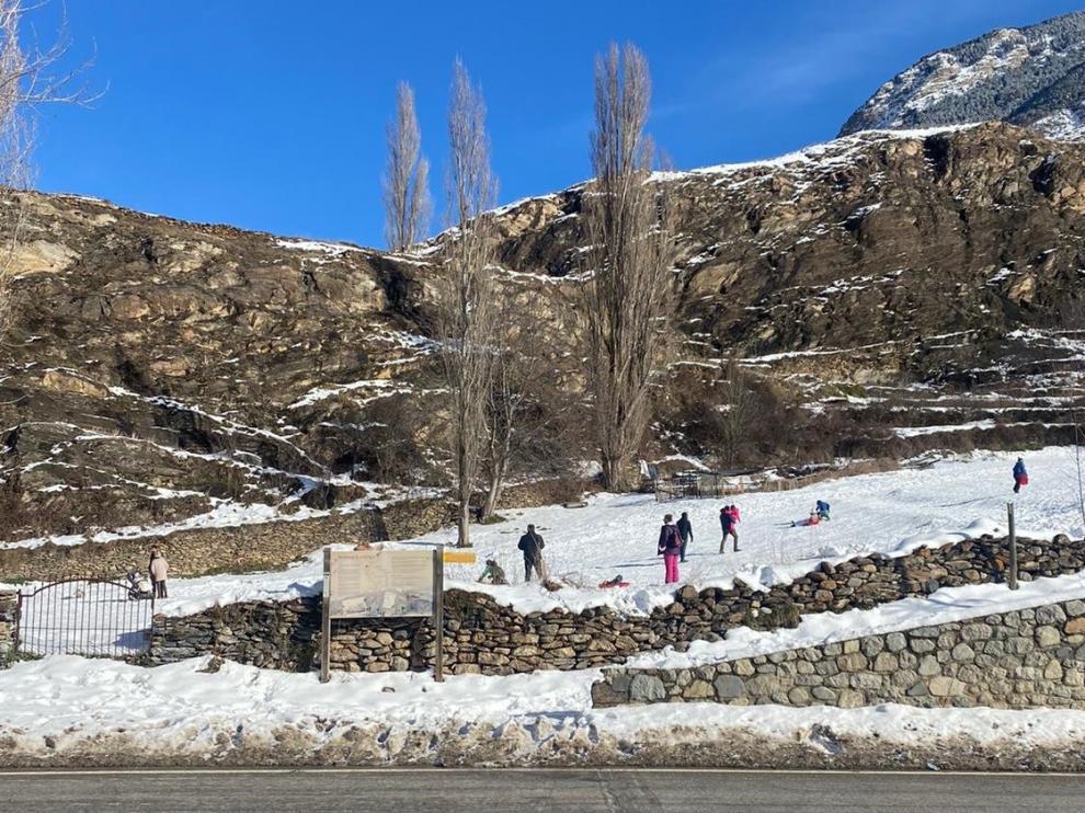 Establecimientos cerrados y ocupación turística mínima en Ribagorza