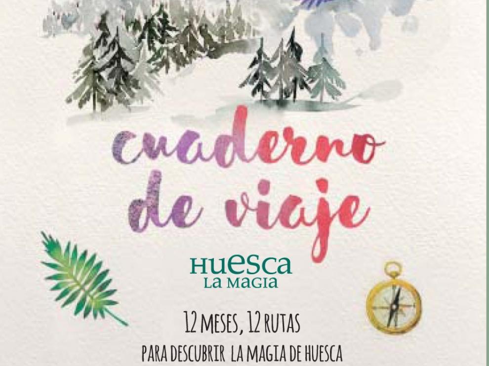 TuHuesca y Diario del Altoaragón regalan este domingo un cuaderno de viaje para vivir la magia de Huesca y participar en sorteos