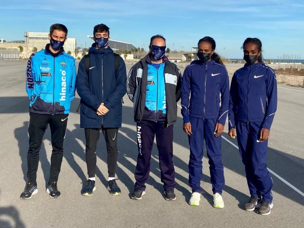 Pol Oriach despide 2020 a ritmo de récord en atletismo en Barcelona