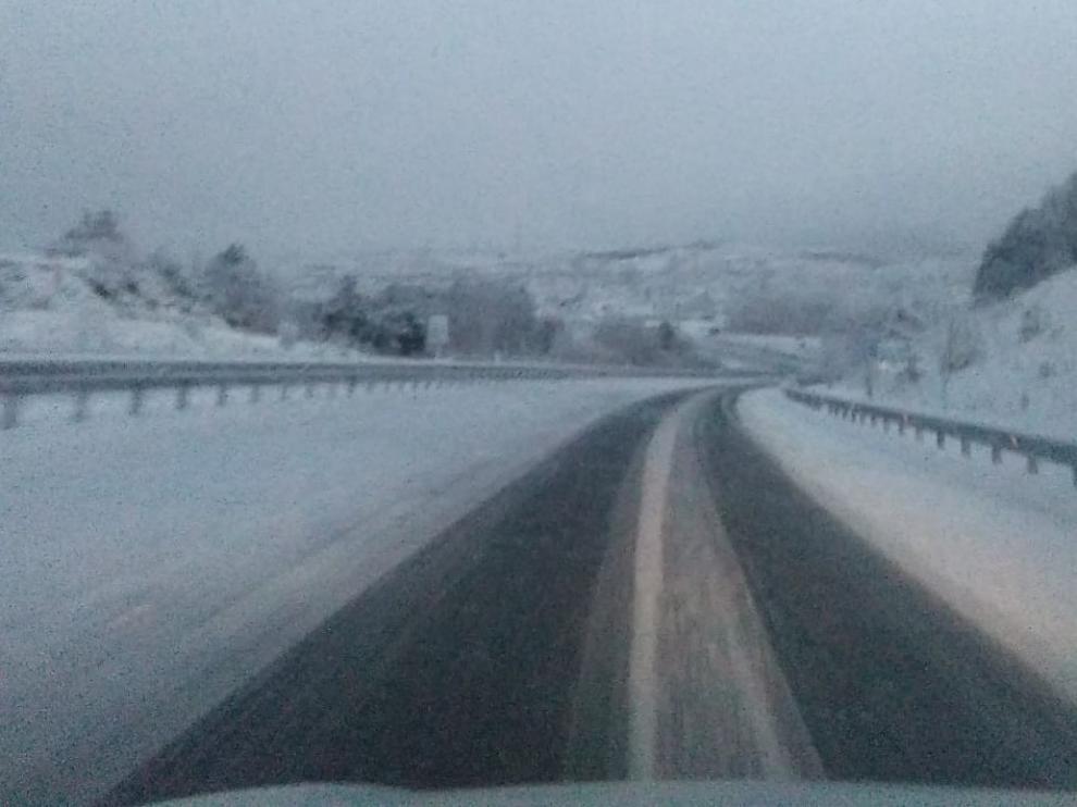 Tráfico de Huesca hace un llamamiento a la prudencia para evitar accidentes