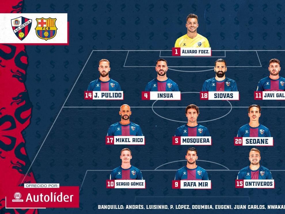 El Huesca no puede con el Barcelona (0-1)
