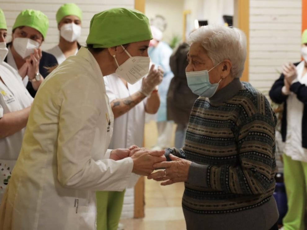 Aragón prevé vacunar a más de 20.000 personas durante la próxima semana