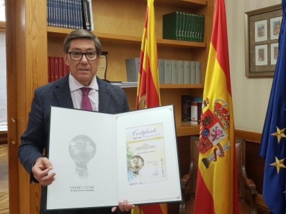 Un proyecto de la Fundación Hidrógeno Aragón gana el National Energy Globe Award Spain