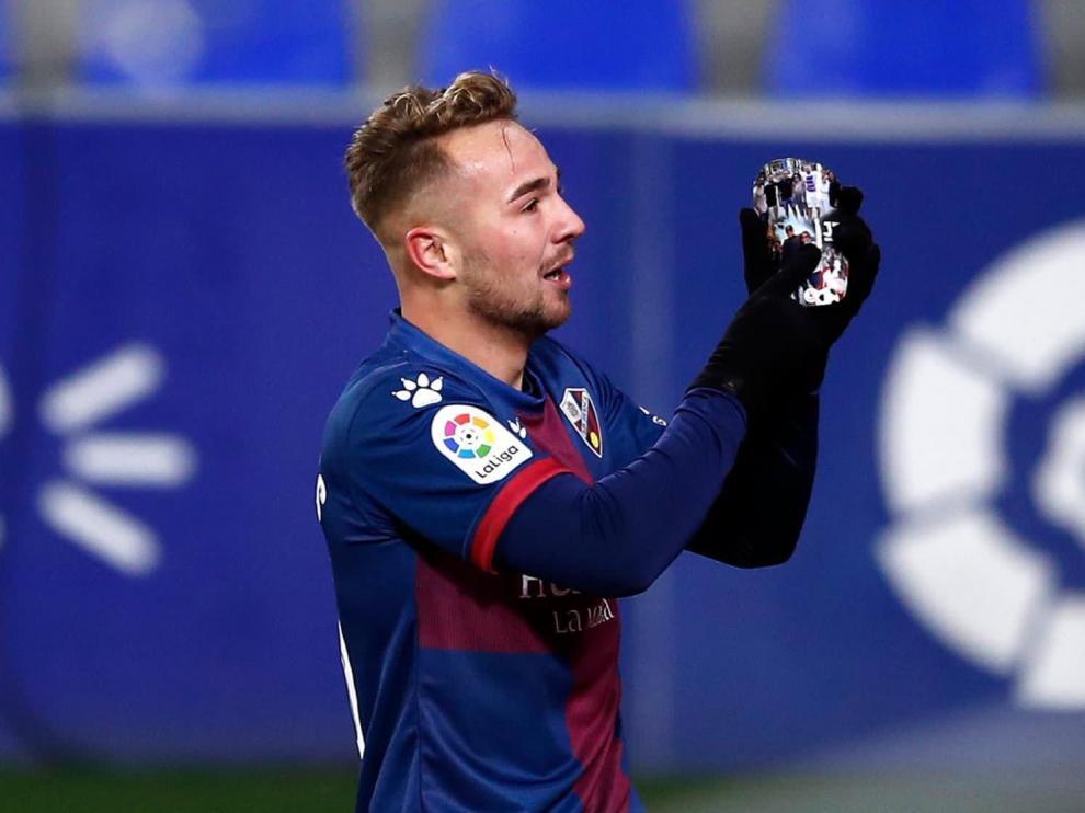 Fallece la abuela del jugador de la SD Huesca Javier Ontiveros