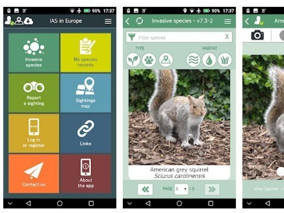 La lucha contra las especies exóticas invasoras se traslada a los móviles