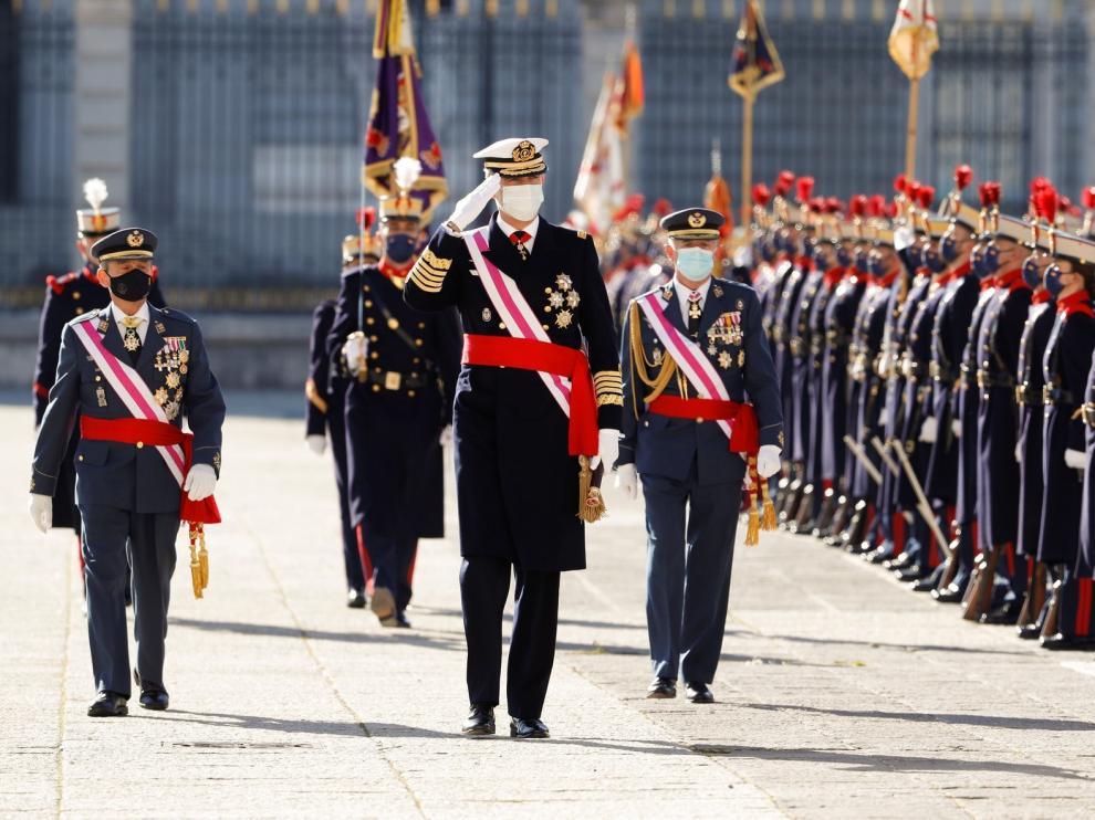 """El Rey subraya la vigencia de la Constitución: """"Todos estamos incondicionalmente comprometidos con ella"""""""