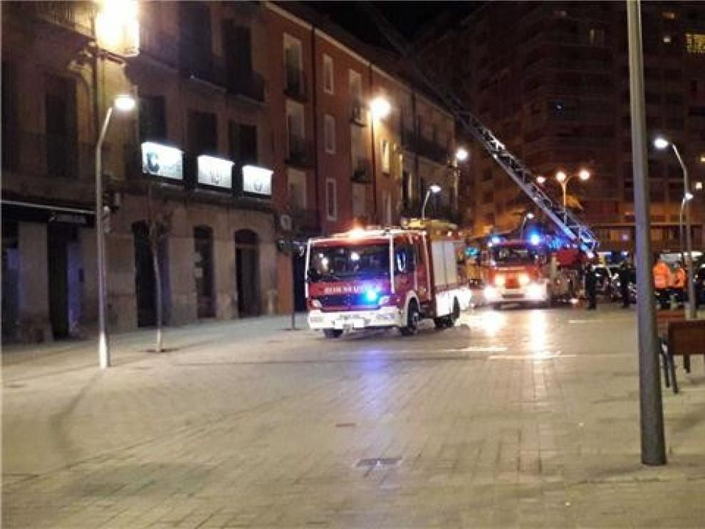 Dos incendios declarados en Huesca en pocas horas se quedan en un susto