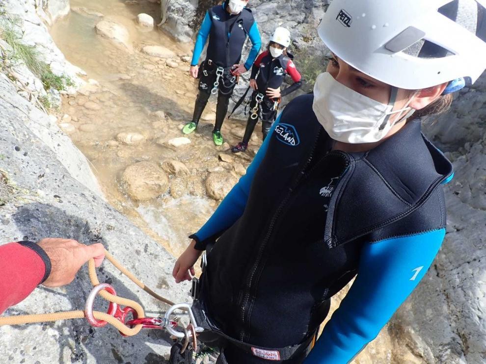 """El turismo activo de Aragón """"avanza"""" en sus reivindicaciones para sobrevivir"""