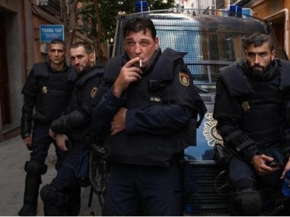"""""""Antidisturbios"""", la serie más vista de 2020 en Movistar+"""