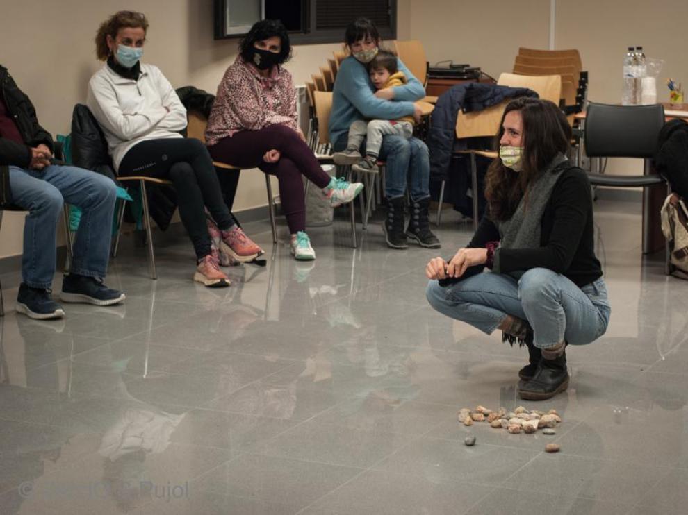 """Silvia Cored: """"Loarre es un pueblo unido y abierto a compartir"""""""