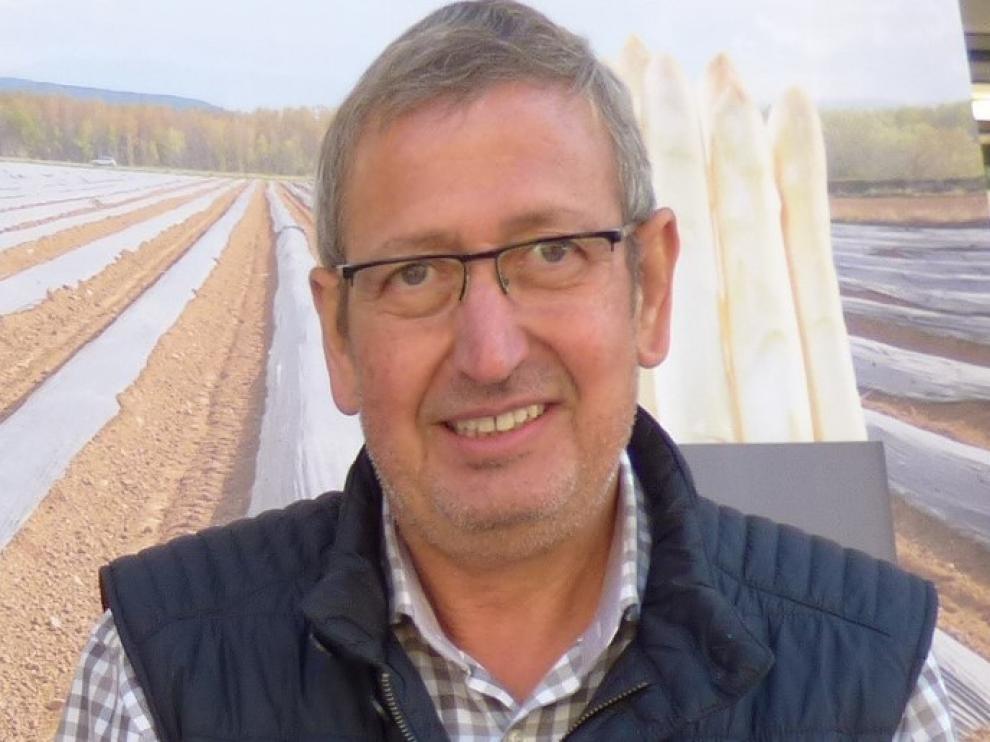 Esteban Andrés deja, tras 12 años, la gerencia de la Asociación de Hortelanos del Alto Aragón