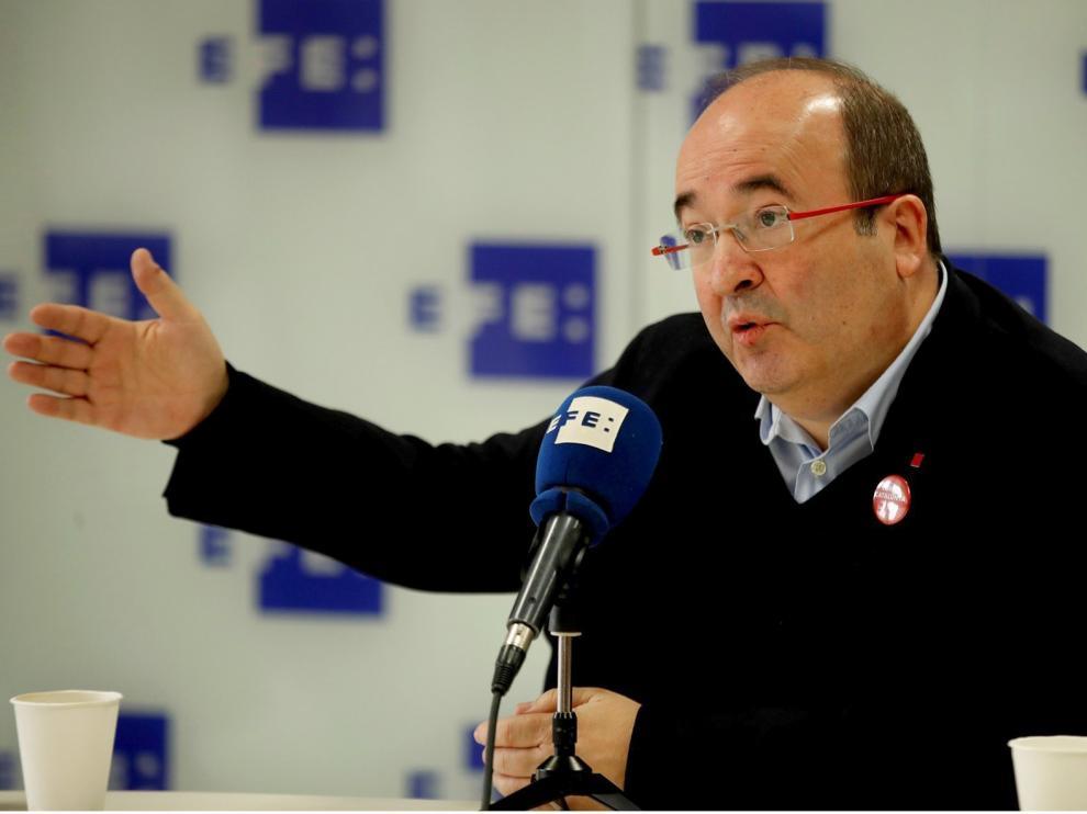 """Miguel Iceta: """"No voy a cambiar mis ideas para acceder a un ministerio"""""""