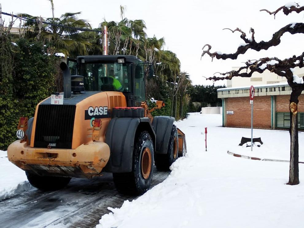 El Gobierno de Aragón llama a extremar la precaución en las carreteras por la existencia de placas de hielo