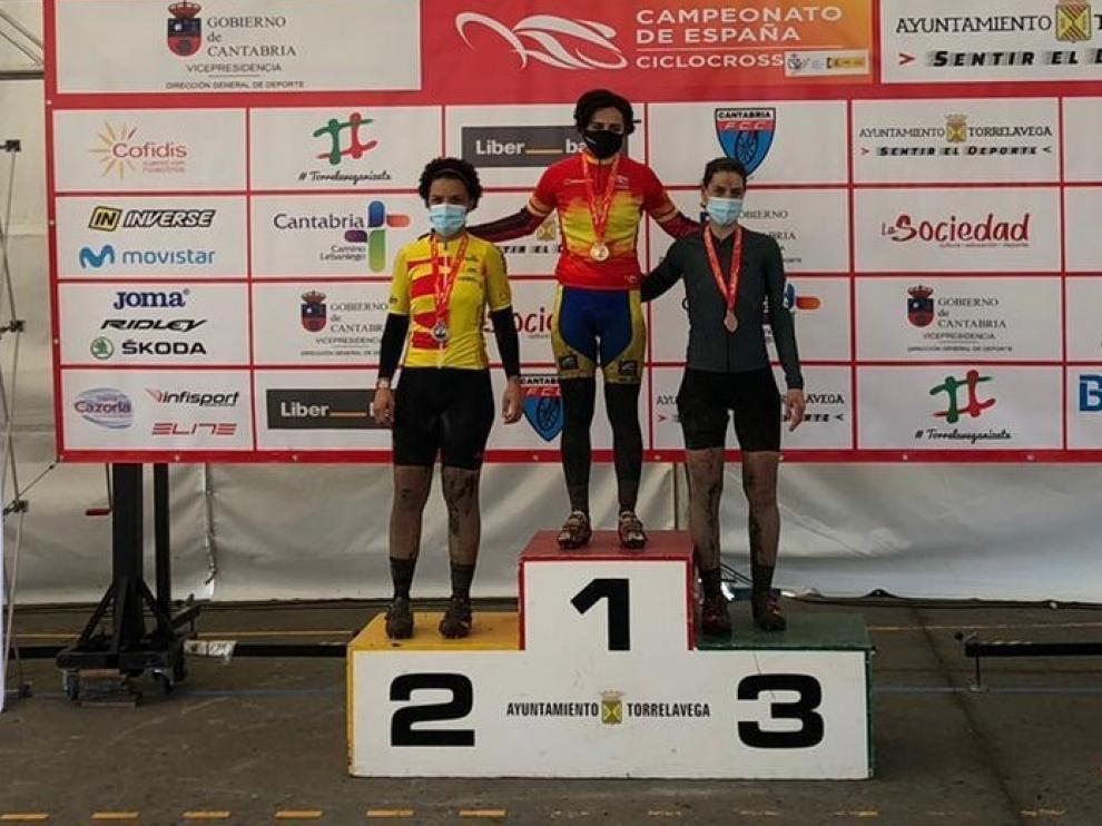 Lilian Soriano logra el subcampeonato Master 40 de ciclocross en tierras cántabras