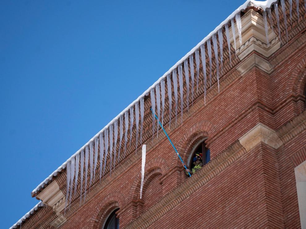 Un pueblo de Teruel registra la temperatura más fría de España con -25,4 grados y Sabiñánigo marca -15