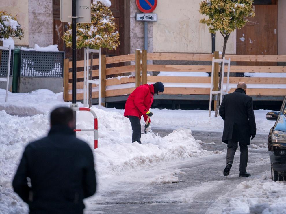 Ampliación del aviso rojo por temperaturas mínimas de hasta -15 grados en varias zonas de Aragón