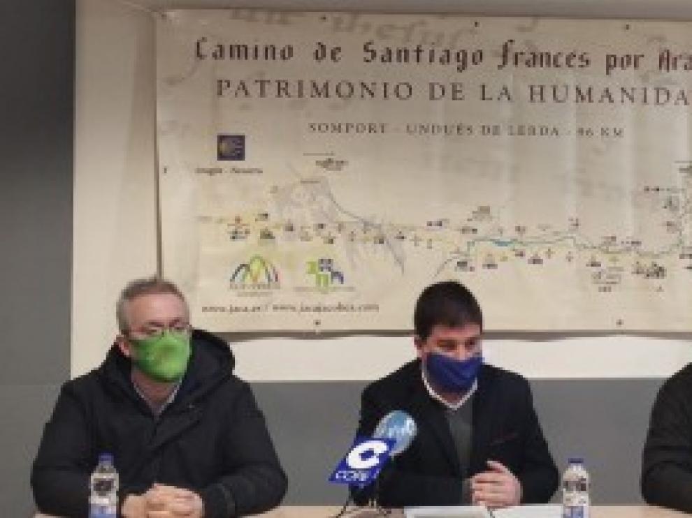 Nuevo impulso a la mejora de la seguridad en el tramo aragonés del Camino de Santiago, camino francés