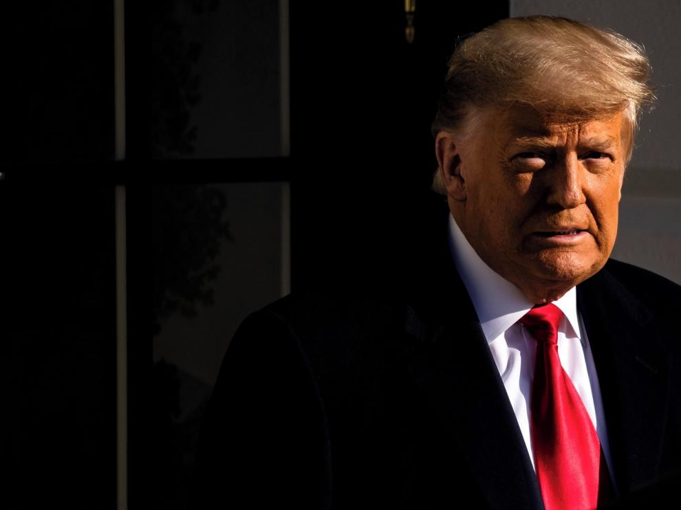 Aprueban un nuevo juicio político a Trump tras el asalto al Capitolio