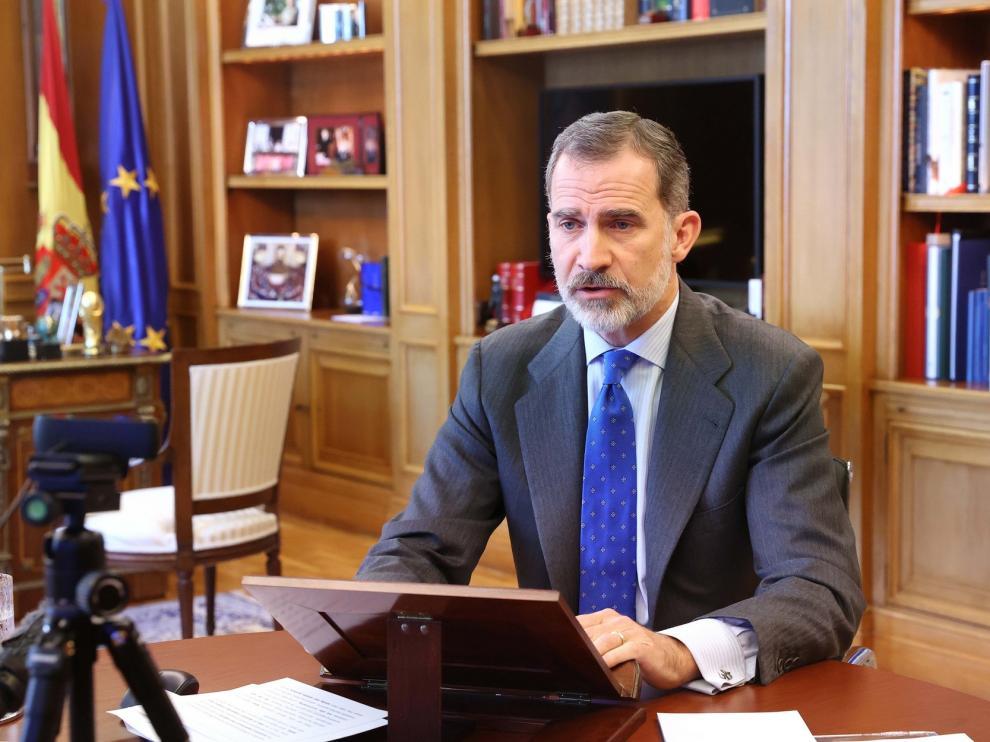El Rey anima a los inversores a confiar en España