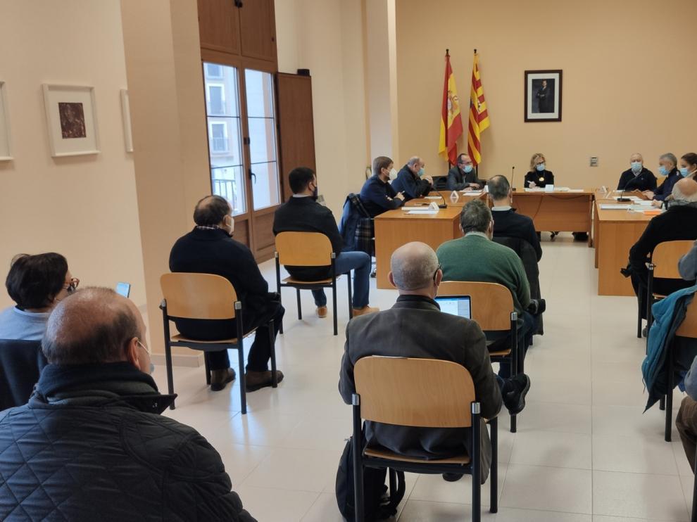 Los ayuntamientos de la Litera y la Ribagorza analizan con el Ministerio de Fomento la situación de la A-14