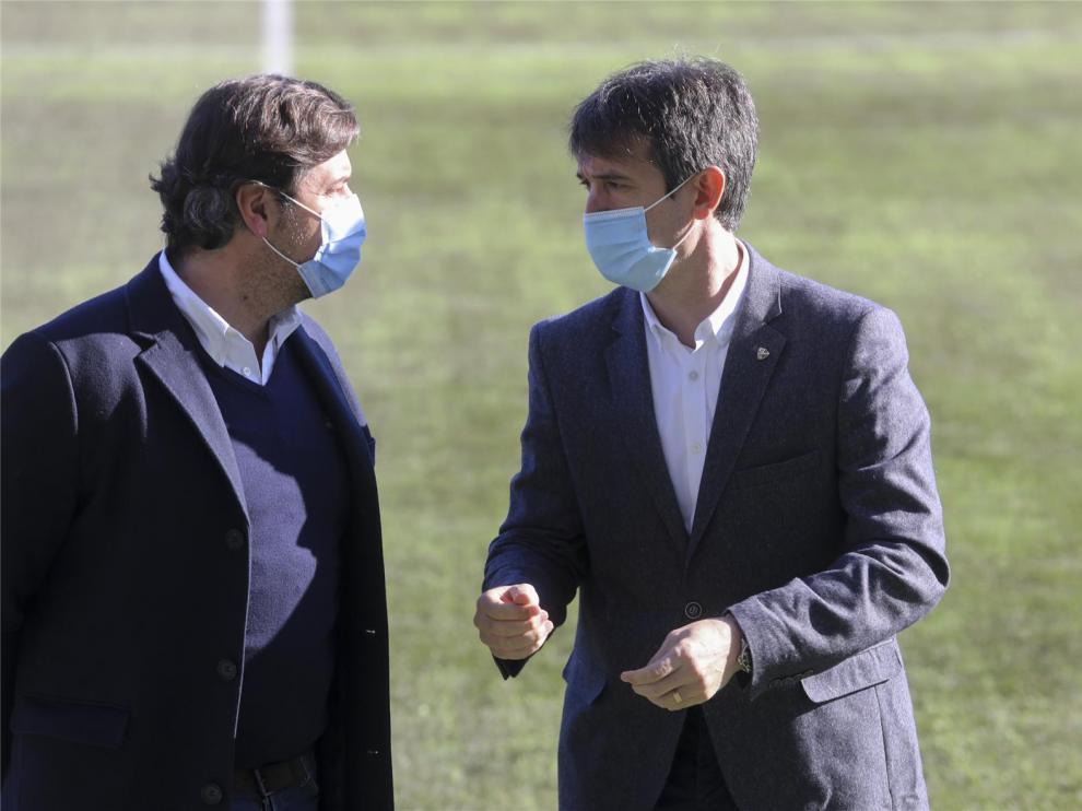 El Huesca amplía el contrato de Álvaro hasta 2023