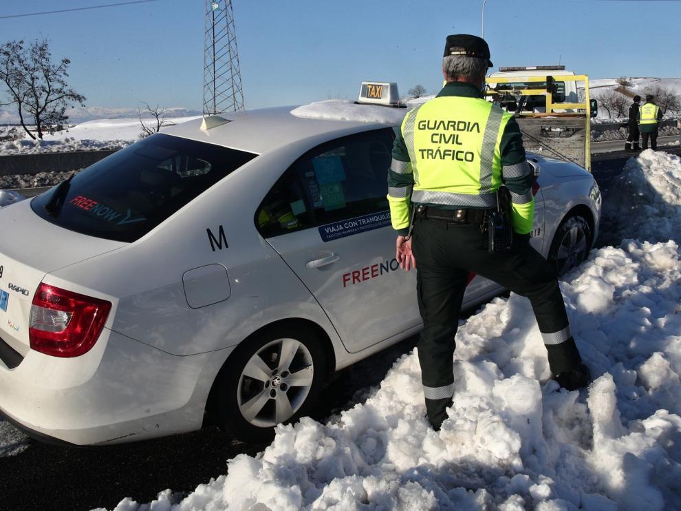 La Guardia Civil ha evacuado en toda España a 824 personas por el temporal Filomena