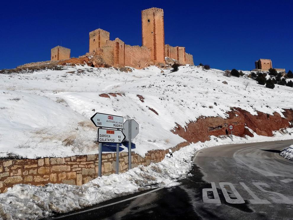 Molina de Aragón se instala en el liderato de pueblos más fríos por quinto día consecutivo y registra -14,7ºC