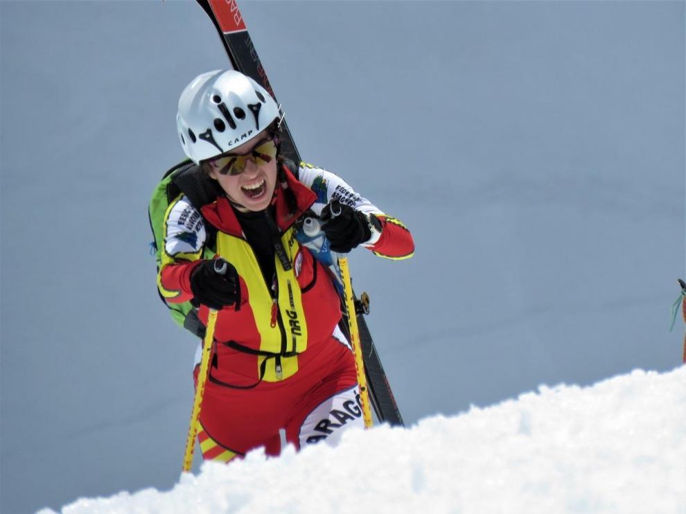 Claudia Valero (CAS), campeona de España Sub-23