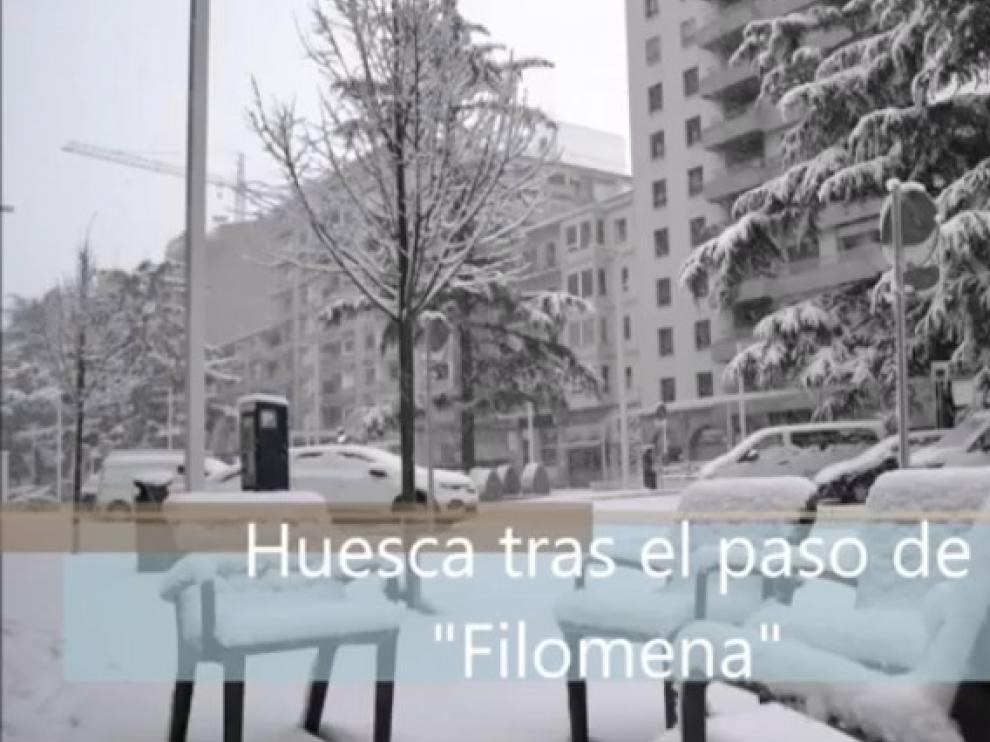 El recuerdo de Filomena, en un hermoso vídeo con la voz de Roberto Ciria