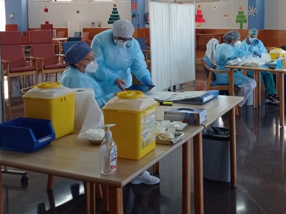 Las residencias de la provincia de Huesca piden ayudas por los gastos de la covid