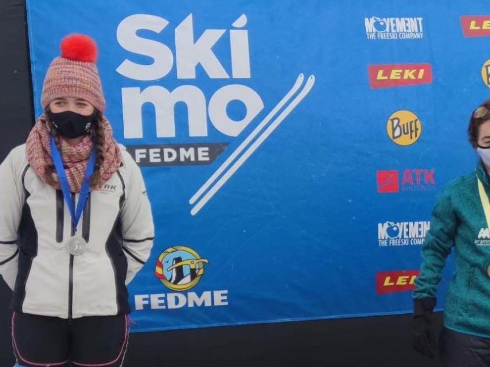 Títulos para Claudia Valero y Óscar Díez en los Campeonatos de España de esquí de montaña