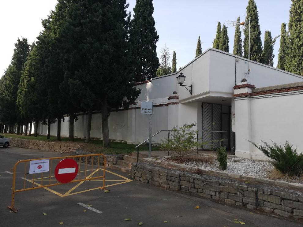 El PSOE de Fraga alerta de que sólo quedan 15 nichos libres en el Cementerio Municipal