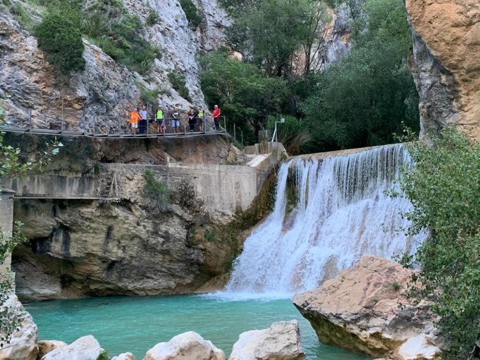 La Ruta de las Pasarelas de Alquézar pierde más de 79.000 visitantes durante 2020
