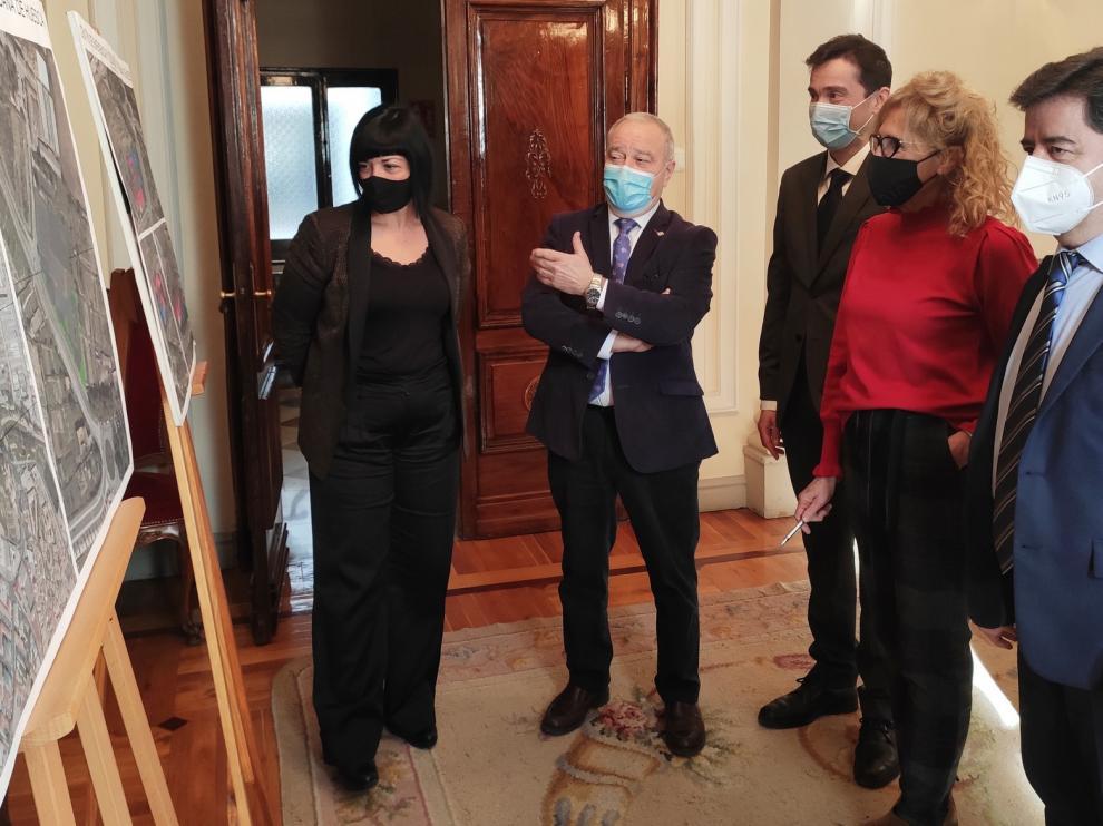 Luis Felipe anuncia la próxima licitación del proyecto del Centro de Emergencias y Seguridad Ciudadana de Huesca