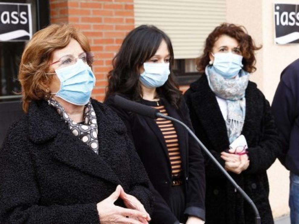"""María Victoria Broto: """"La primera fase de la vacunación en las residencias de Aragón ha funcionado bien"""""""