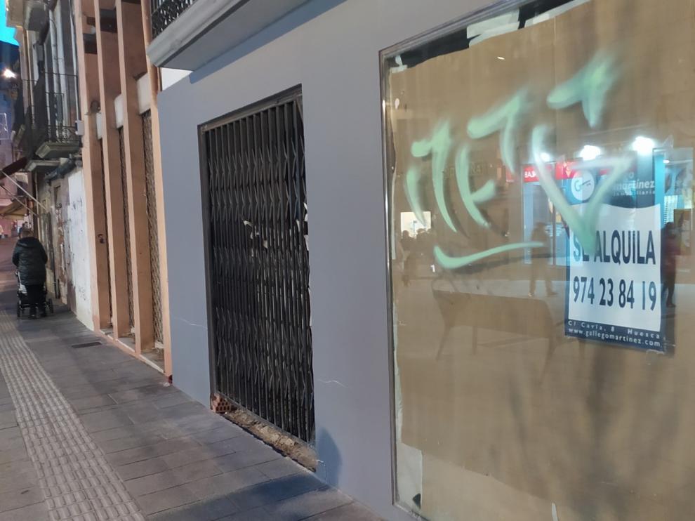 """""""La tormenta perfecta"""" debilita al comercio de proximidad en Huesca"""