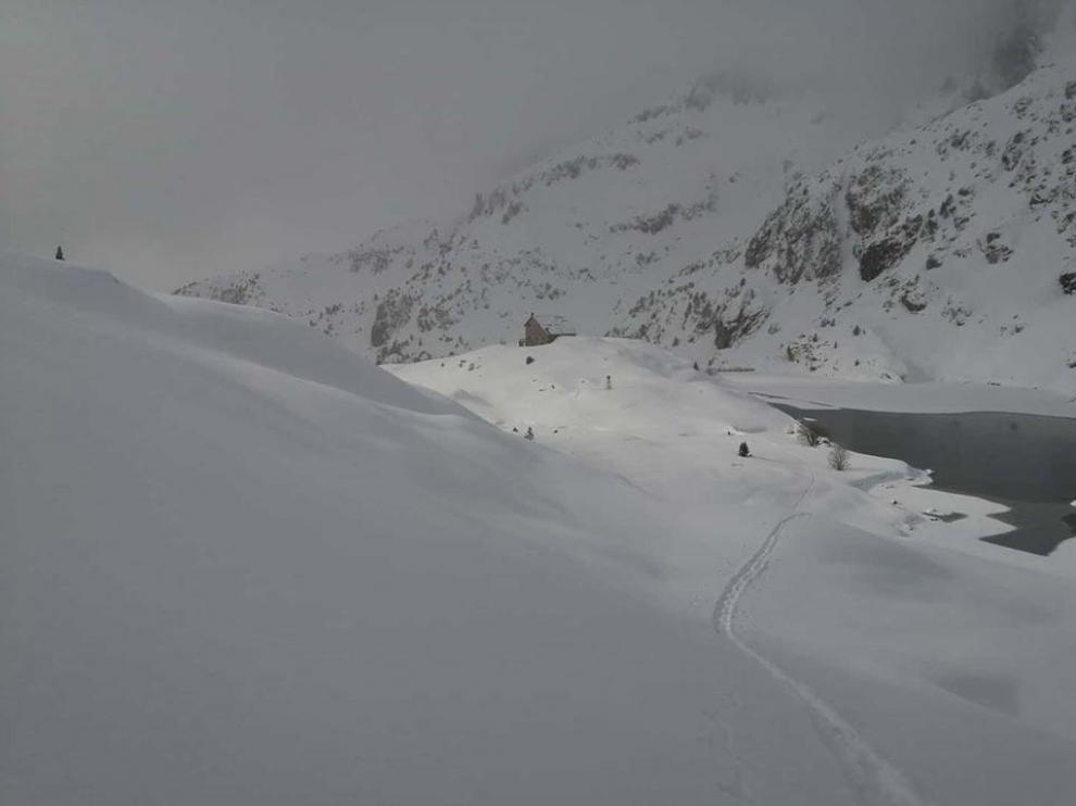 Nevadas por encima de los 1000 metros en el Pirineo y nieblas matinales