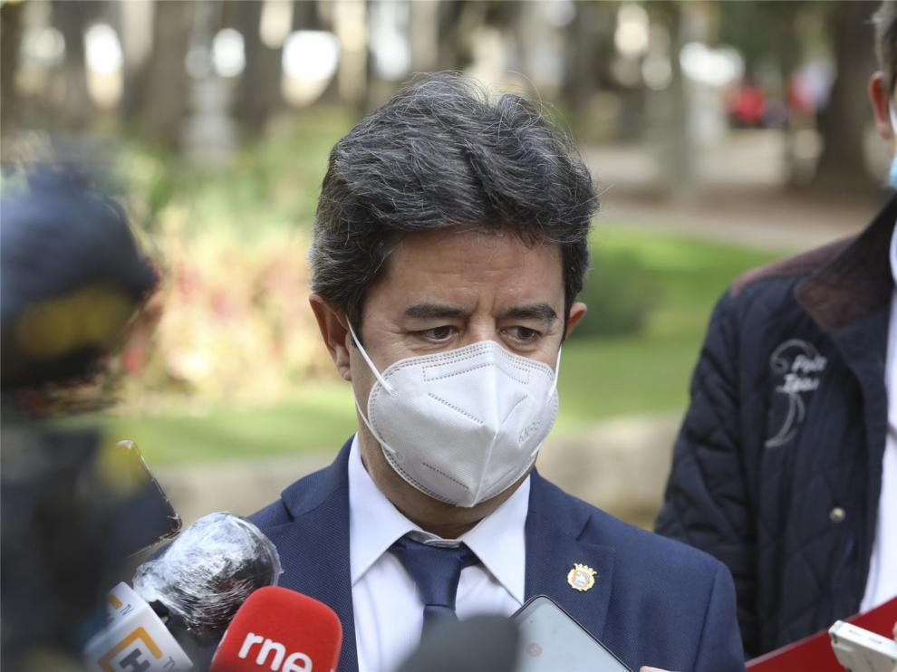 Luis Felipe advierte de que la incidencia a siete días justifica el confinamiento perimetral de Huesca capital