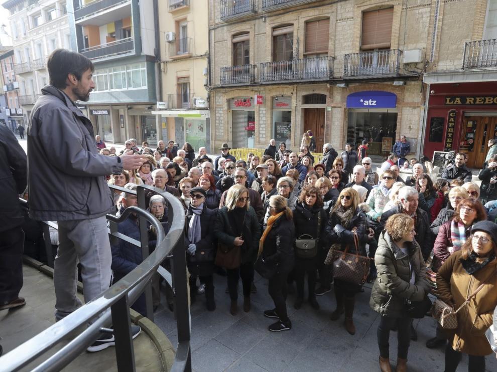 La Oficina de Turismo de Huesca organiza este viernes visitas vicentinas