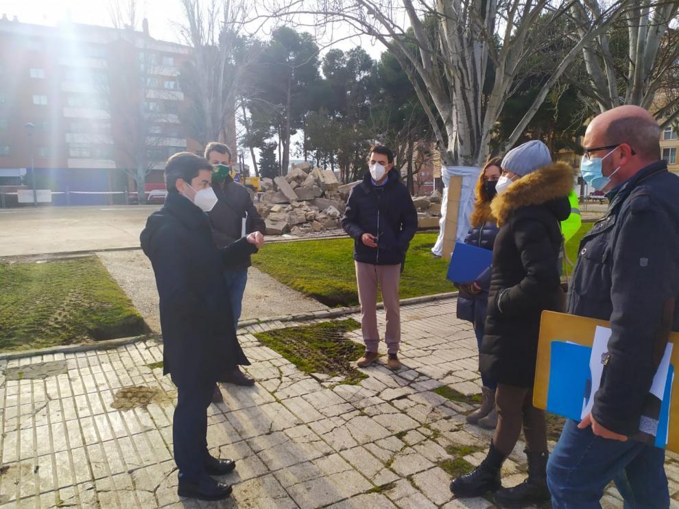 El Ayuntamiento de Huesca invertirá este año más de 340.000 euros en el Parque San Martín