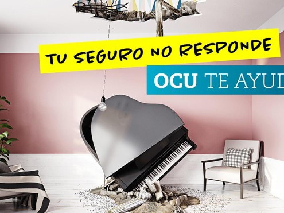 """La OCU inicia la campaña """"Mi seguro no responde"""""""
