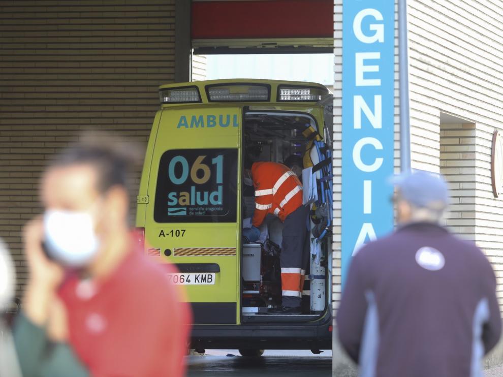 Personal de ambulancias de la provincia de Huesca reclama más medios